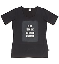 Everlast T-Shirt Light Jersey Stretch T-Shirt fitness donna, Black