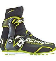 Fischer RCS Carbonlite Skate - scarpa sci da fondo, Black/White/Yellow
