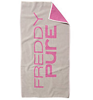 Freddy Color Towel Pure, Grey melange/Rose