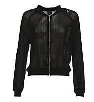 Freddy Felpa con zip donna, Black