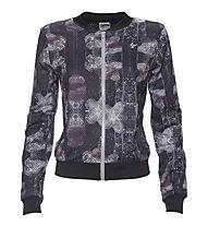 Freddy Pure Tech Jacket Damen, Black/White/Prune