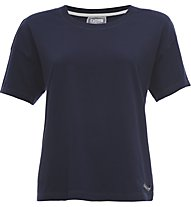 Freddy Take Light Jersey 130 GSM T-Shirt Fitness Donna, Blue