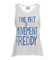 Freddy Training Color Tank Top Damen, White