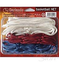 Garlando Basketballnetz, White