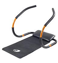 Get Fit Bauchmuskeltrainer Force Roller, Black/Orange