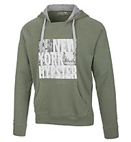 Get Fit Man Sweater With Hood - felpa con cappuccio, Military Green
