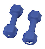 Get Fit Neoprene Dumbbell pesi, Blue