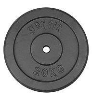 Get Fit Dischi in ghisa 1- 20 kg, 20 kg