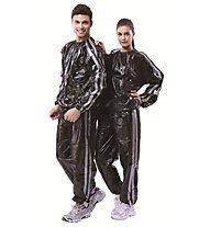 Get Fit PVC Sauna Suit, Black