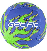 Get Fit Volley Ball Mini Jerseyprene, Blue/Green