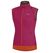 GORE BIKE WEAR Element Lady WS AS Zip-Off Jacket, Pink/Orange