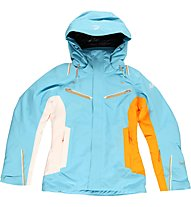 Halti Lumikoi jacket, Blue Atoll/White