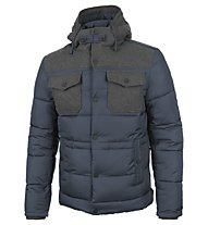 Iceport Down Town Man Giacca, Dark Blue