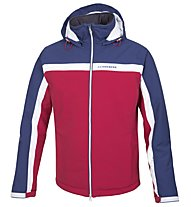 J.Lindeberg M JL Ski Jacket, Navy/Purple