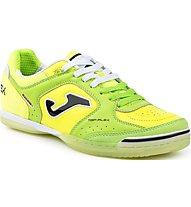 Joma Top Flex Fußballschuhe Indoor, Green/Yellow