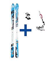 K2 Skis BackLite Set: Ski + Bindung
