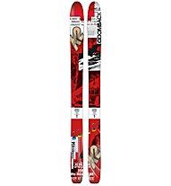 K2 Skis CoomBack 114 - Freerideski, Red/Black