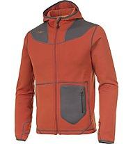 Kaikkialla Aatto Powerstretch giacca Trekking, Rust