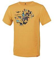 Kaikkialla Kaarle T-Shirt, Saffron
