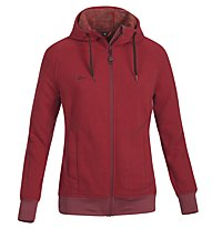 Kaikkialla Marja giacca lana/pile donna, Red