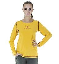 Kaikkialla Nelli L/S Shirt Woman, Golden Rod
