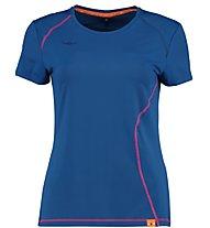 Kaikkialla Tea T-shirt Trail running donna, Navy