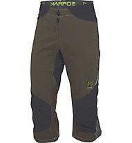 Karpos Cliff Pantaloni corti trekking 3/4, Green/Black