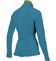 Karpos Cristallo 2 W Jersey - maglia a maniche lunghe donna, Turquoise/Green