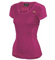 Karpos Path Projersey T-Shirt escursionismo Donna, Pink