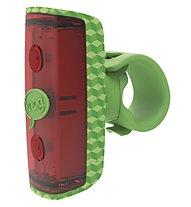 Knog Pop Rear Fahrradlicht, Green