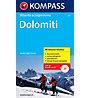 Kompass Skitouren-Atlas Dolomiten, Italian