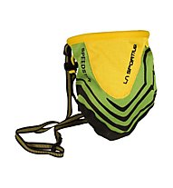 La Sportiva Chalk Bag Speedster, Green/Yellow