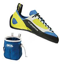 La Sportiva Finale - scarpa arrampicata, Sulphur/Blue