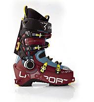 La Sportiva Sparkle 2.0 - scarpone scialpinismo donna, Red/Blue