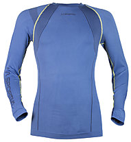 La Sportiva Troposphere 2.0 Long Sleeve M, Dark Sea Blue