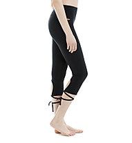 Lolë Eliana Capri Yoga pantaloni yoga donna, Black