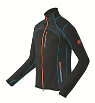 Mammut Eiswand giacca in pile, Black