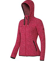 Mammut Kira Tour ML Hooded giacca in pile donna, Red
