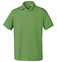 Meru Herren Basic Polo Shirt, Green