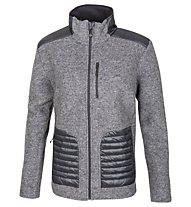 Meru Kaunas Wolljacke, Anthracite/Black