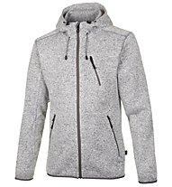 Meru Mallebo giacca con cappuccio, Grey Melange/Grey