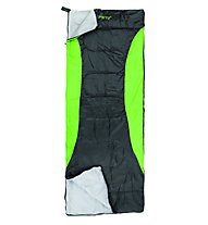 Meru Summercamp Sommerschlafsack, Black/Green