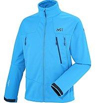 Millet K Wds Jkt Giacca Softshell alpinismo, Blue