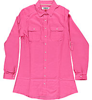 Mistral Long Sleeve Slim Fit Shirt camicia a maniche lunghe Donna, Fuxia