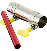 MSR Tent Pole Repair Kit, Silver/Red