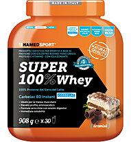 NamedSport Integratore in polvere Super 100% Whey 908 g, 908 g