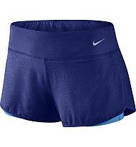 "Nike 3"" Rival Jacquard 2in1 Laufshorts Damen, Blue"
