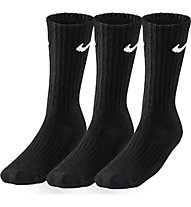 Nike 3PPK Value Cotton Crew, Black/White
