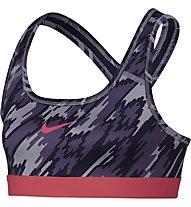 Nike Girls' Pro Bra Classic Sport-BH Mädchen, Violett