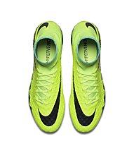 Nike HyperVenom Phantom II FG - Fußballschuhe fester Boden, Volt/Black